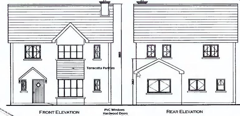 4 bed detached elevations