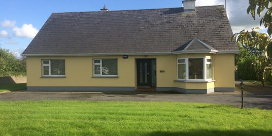 Glencoe, Birmingham Road, Tuam, Co. Galway 3 Bed  2 Bath  127 m²  Detached