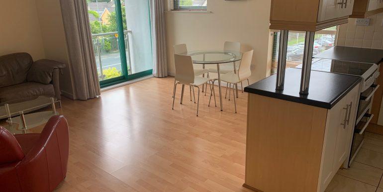 Open plan kitchen, living dining (1)