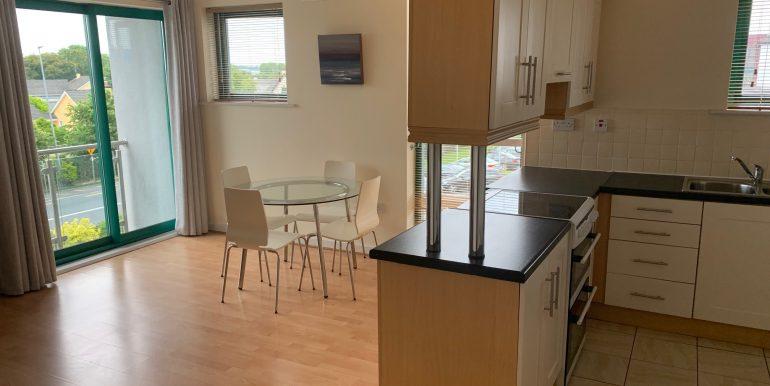 Open plan kitchen, living dining (4)