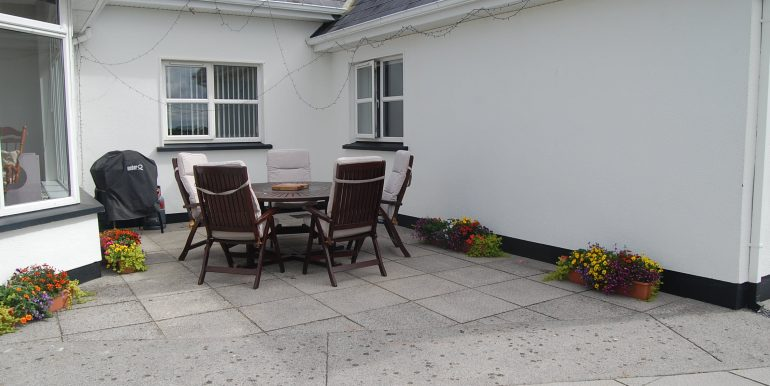 Patio and rear of house (6)
