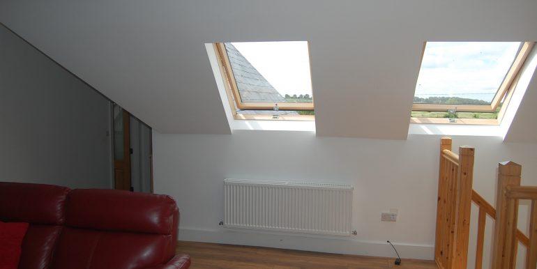 Velux rooflights allow maximum light